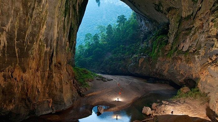 Hang Én trong quần thể vườn quốc gia Phong Nha Kẻ Bàng