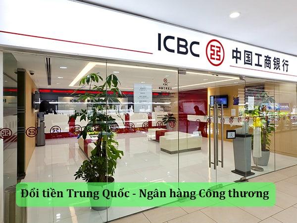 Đổi tiền Trung Quốc - Ngân hàng Công thương