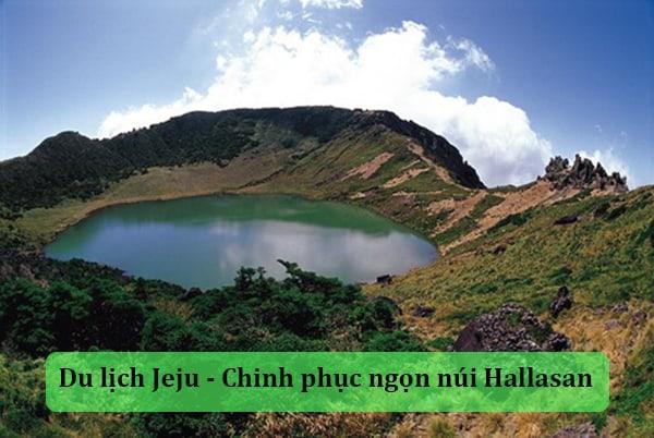Chinh phục ngọn núi cao nhất Hàn Quốc