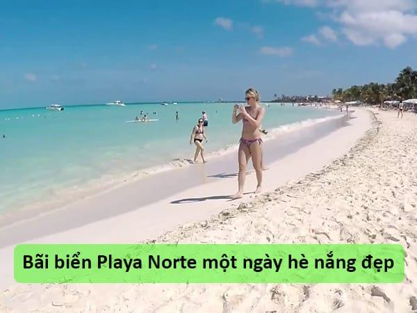 Bãi biển Playa Norte, Mexico