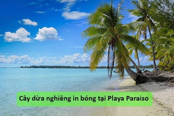 Bãi biển Playa Paraiso, Cuba