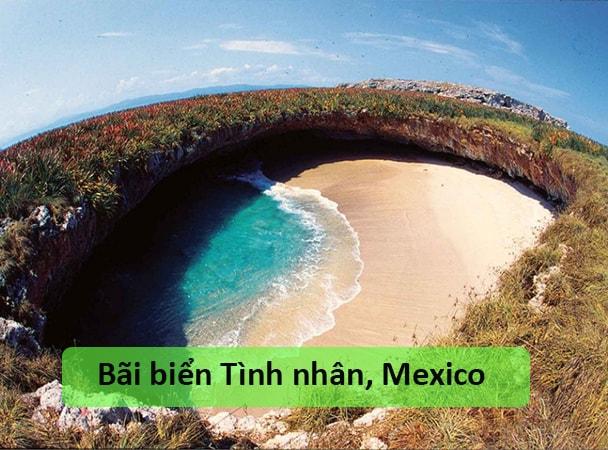 Bãi biển Tình nhân, Mexico