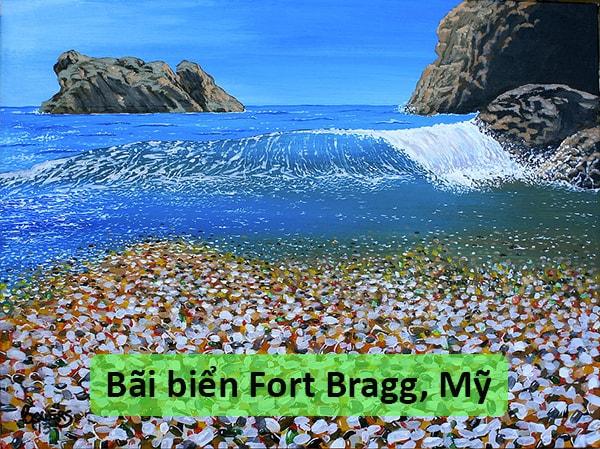 Bãi biển Fort Bragg, Mỹ