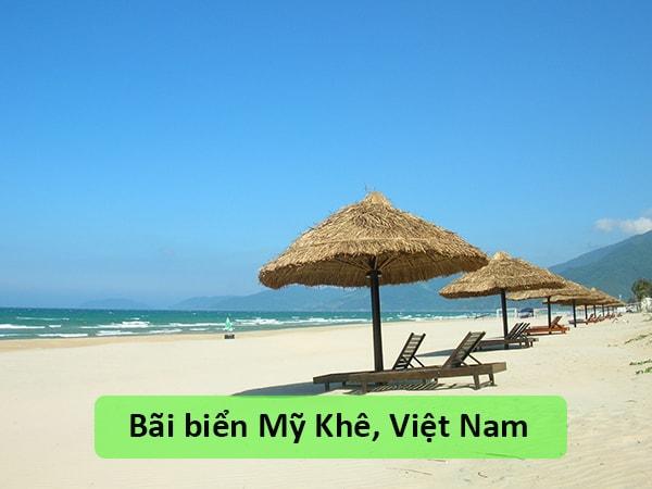 Bãi biển Mỹ Khê, Việt Nam