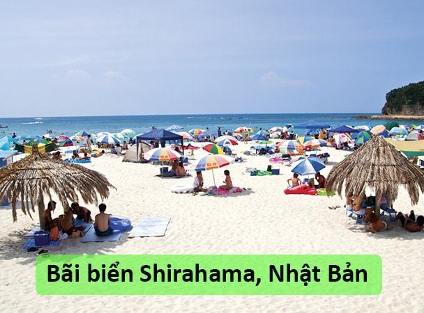 Bãi biển Shirahama, Nhật Bản