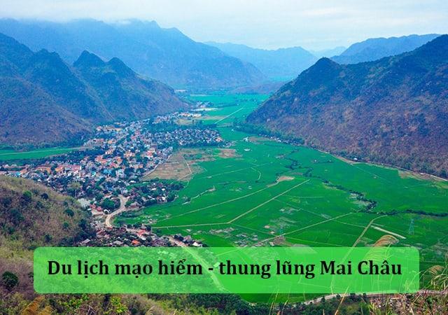 Du lịch mạo hiểm Mai Châu (Hòa Bình)