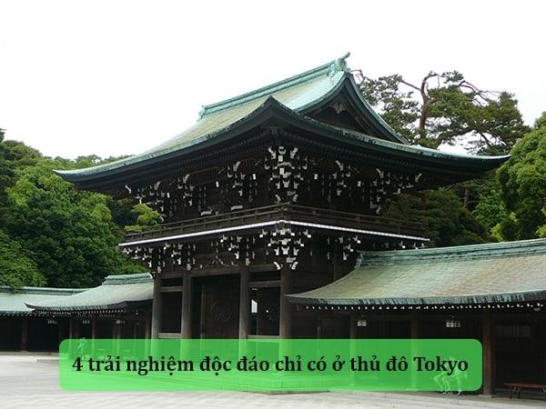 Du lịch Nhật Bản và 4 trải nghiệm độc đáo chỉ có ở thủ đô Tokyo 1