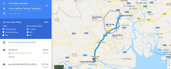 Đường đi miệt vườn Cù lao Thới Sơn, Tiền Giang