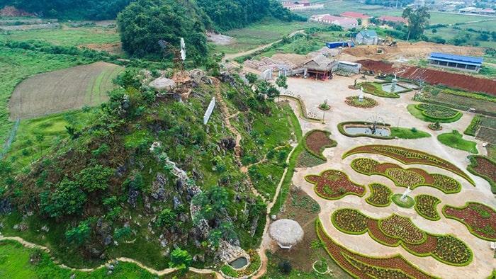Vườn hoa Love Garden - Mộc Châu
