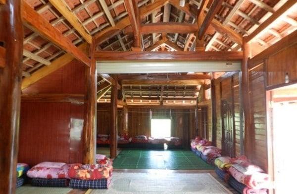 Nhà sàn tại Mộc Châu dành cho du khách