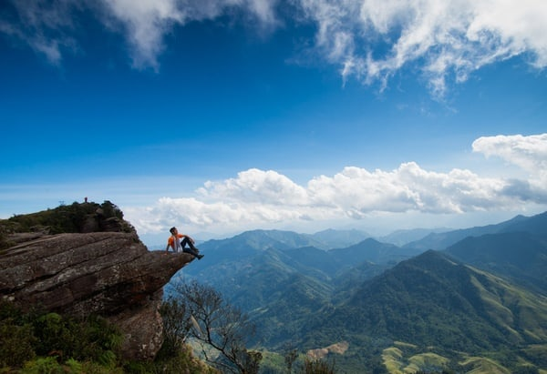 Dân phượt chinh phục đỉnh Pha Luông
