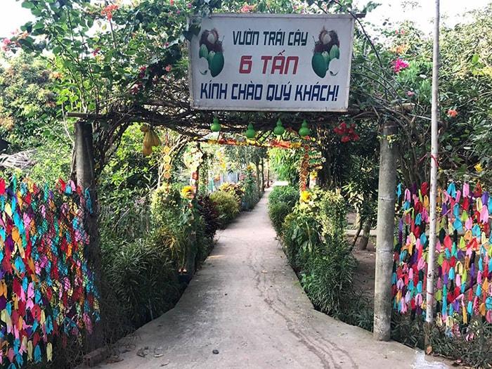 Vườn trái cây 6 tấn Cù lao An Bình