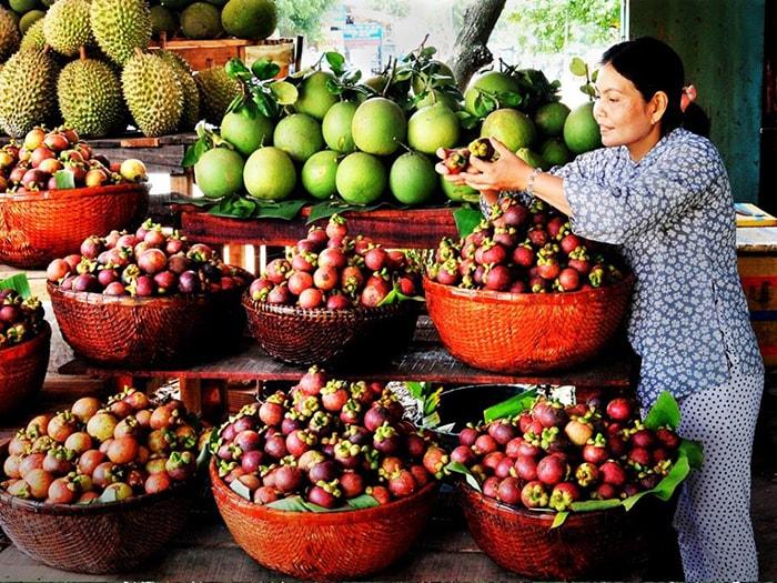 Trái cây ở miệt vườn Lái Thiêu, Bình Dương