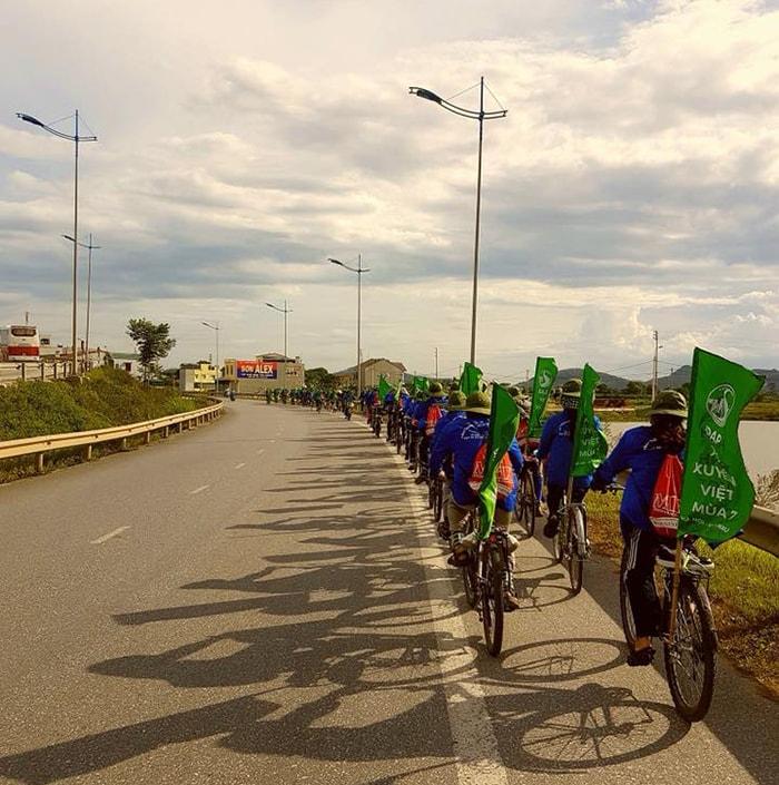 Phượt xe đạp xuyên Việt bạn nên đi sớm để tận dụng thời gian