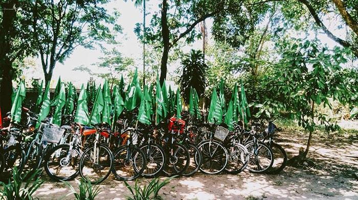 Không nên mang quá nhiều đồ khi đi phượt xuyên Việt bằng xe đạp