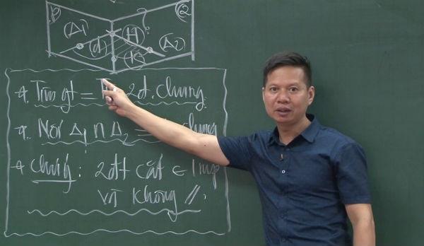 """Thầy Nguyễn Công Nguyên – """"Giáo sư"""" môn Hình học"""