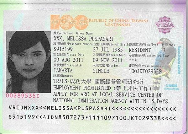 Làm visa du lịch Đài Loan tự túc không khó