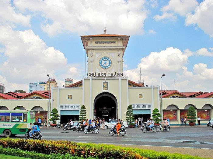 Chợ Bến Thành - Khu chợ nổi tiếng nhất ở Sài Gòn