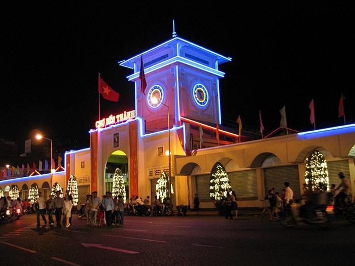Chợ Bến Thành - Sài Gòn