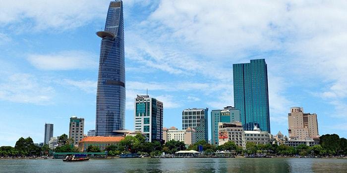 Tòa nhà Bitexco Financial cũng là 1 biểu tượng của Sài Gòn