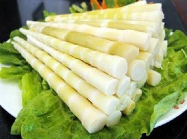 Măng sặt – đặc sản Yên Bái