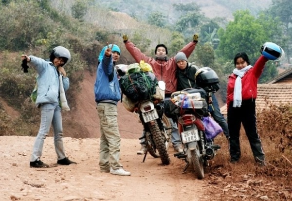 Với những người đi phượt đến Yên Bái, có thể dựng lều cắm trại giữa núi rừng