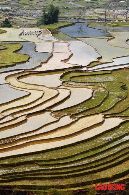 Bản Lìm Mông mùa đổ nước tháng 5-6
