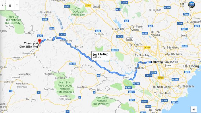 Cung đường đi phượt Điện Biên từ Hà Nội