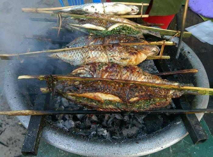 Pa Pỉnh Tộp - Cá nướng kiểu Tây Bắc