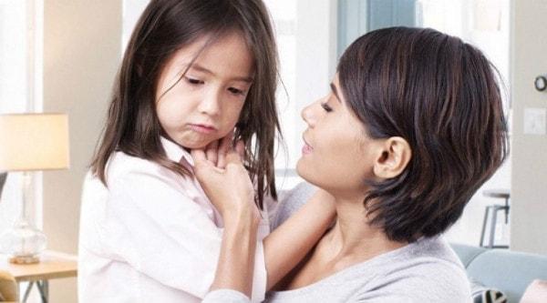 Bé thường quan tâm đến mức độ yêu thương của mẹ với bé