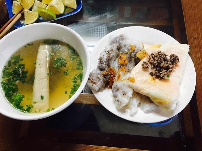 Đặc sản bánh cuốn trứng Hà Giang