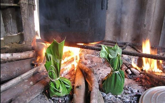 Đặc sản rêu nướng Hà Giang