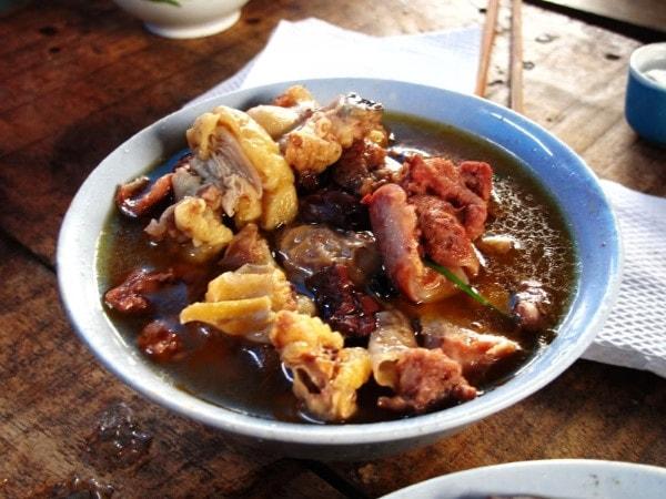 Thắng cố là 1 món ăn đặc sản nổi tiếng ở Sapa