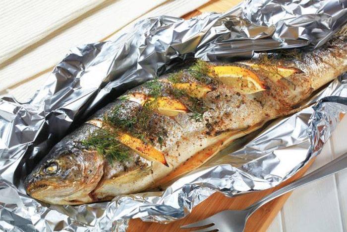 Đặc sản cá hồi nướng Sapa