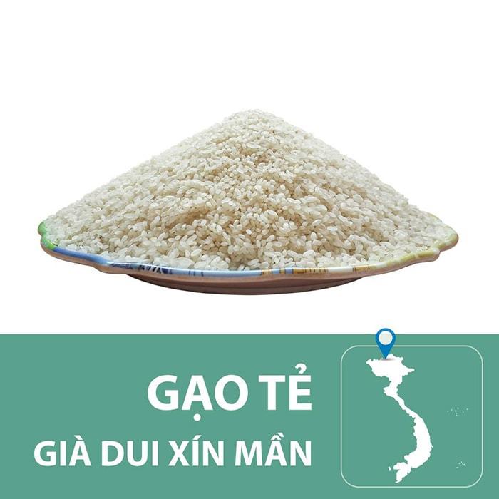 Đặc sản gạo tẻ già Dui Xín Mần