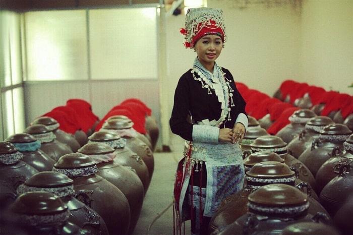Đặc sản rượu San Lùng