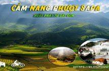 Cẩm nang phượt Sapa xuất phát từ Sài Gòn cho dân phượt
