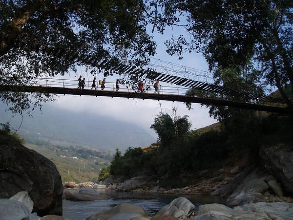 Tham quan cầu Mây - Địa điểm du lịch lý tưởng dịp Tết nguyên đán