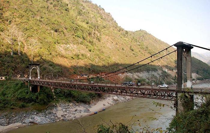 """Cầu Hang Tôm, cây cầu cáp treo """"huyền thoại"""" từng nối hai tỉnh Điện Biên và Lai Châu"""