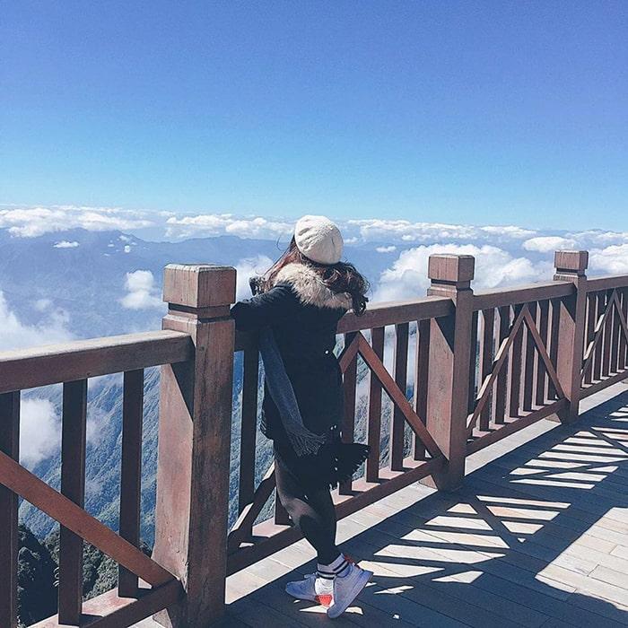 Lên Fansipan tháng 3 bạn có cơ hội săn được mây trên đỉnh