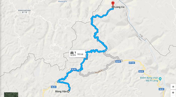 Cung đường từ Đồng Văn đi Lũng Cú