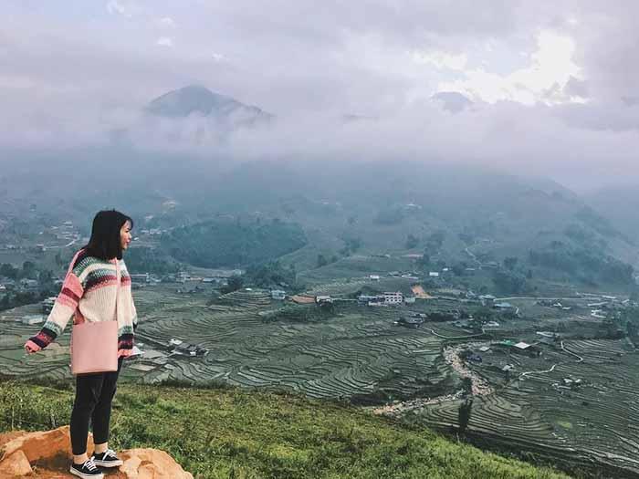 Toàn cảnh Thung lũng Mường Hoa - Sapa