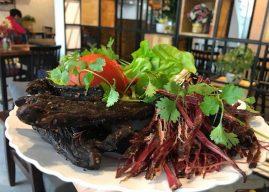 Đến với Điện Biên, đừng bỏ qua đặc sản Thịt trâu gác bếp!