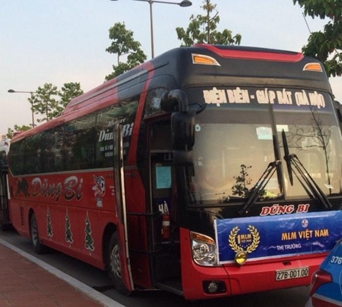 Đến Điện Biên bằng xe khách