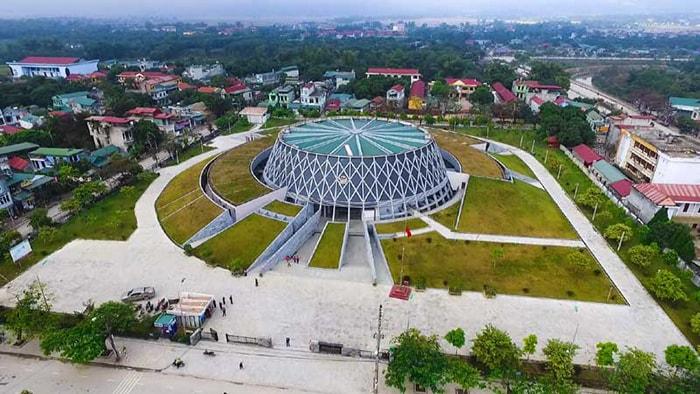 Thành phố Điện Biên nhìn từ trên cao