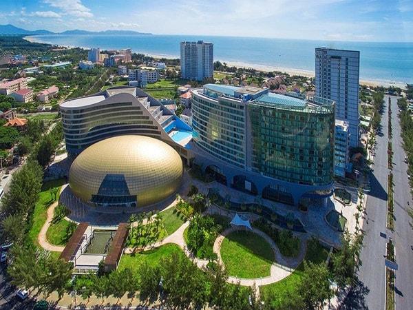 Góc chụp từ trên cao The Imperial Hotel Vung Tau.