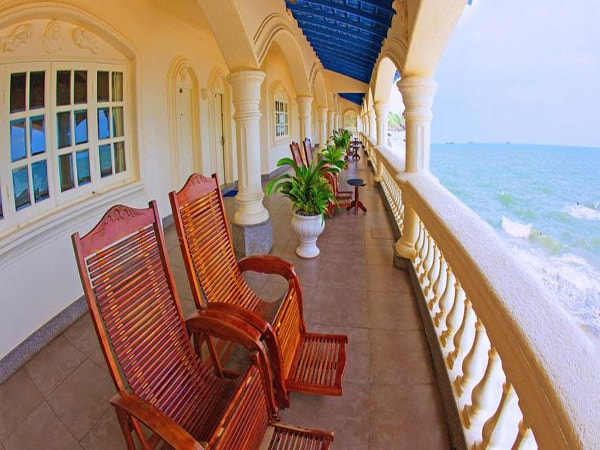 Một góc nhìn ra biển của Leman Cap Resort & Spa, Vũng Tàu