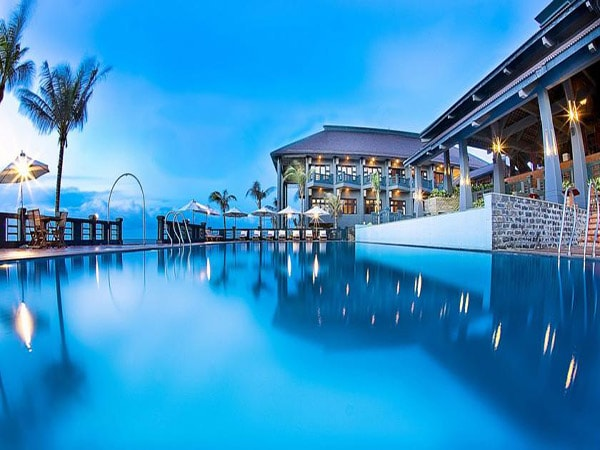 Hình ảnh bể bơi ngoài trời của Long Hai Beach Resort