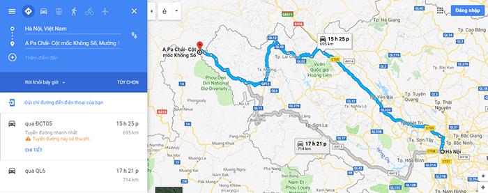 Cung đường Hà Nội – Điện Biên Phủ – Cực Tây A Pa Chải