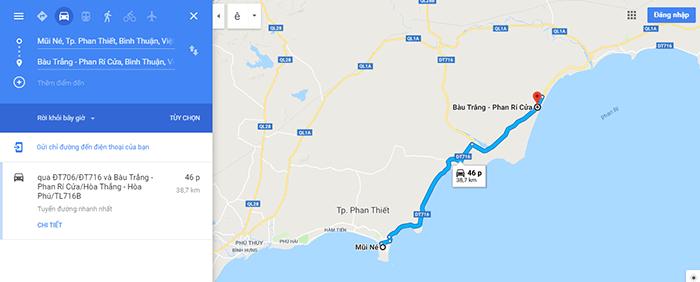 Đường ven biển đẹp nhất ViệtNam Mũi Né - Bàu Trắng – Phan Rí Cửa